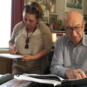 Silvia Giulietti e Giuliano Montaldo